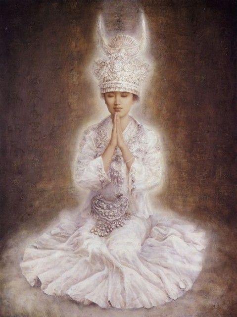 En méditation