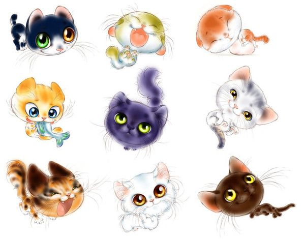 Images chats rigolos page 9 - Dessins de chats rigolos ...