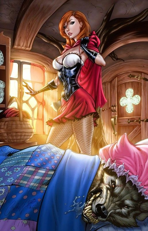 Grimm Fairy Tales Little Red Riding Hood images chaperon rouge ...