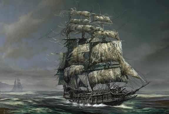 bateau pirate wallpaper - photo #15