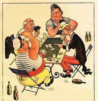 """Résultat de recherche d'images pour """"joueur de carte"""""""