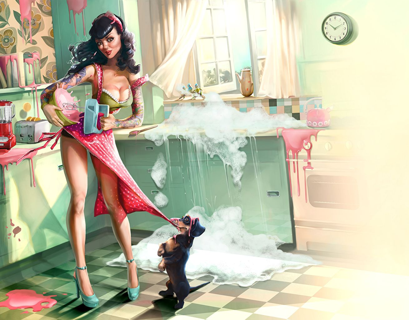 images pin up